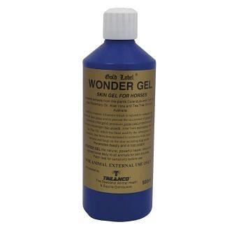 Gold Label Healing Wonder Gel For Horse Wounds 500ml - Chelford Farm Supplies