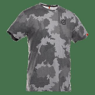 Husqvarna Xplorer Short Sleeved T-Shirt-Forest Camo
