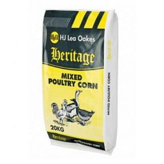 H J Lea Oakes Heritage Mixed Poultry Corn 20kg
