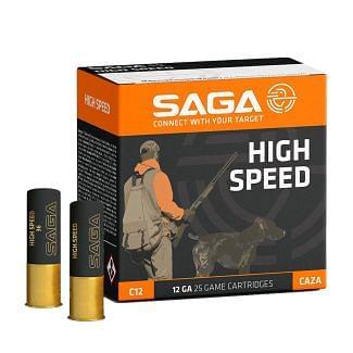 SAGA High Speed 12 Gauge 36 Gram Plastic Shotgun Cartridge