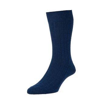 HJ Socks Mens Executive Broad Rib Wool Socks 2 Pack | Chelford Farm Supplies