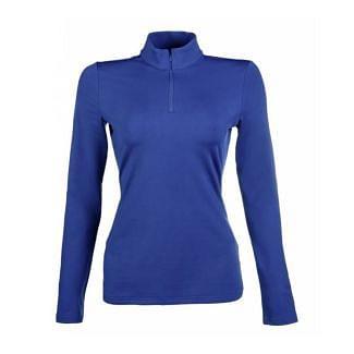 HKM Ladies Basic Functional Shirt Base Layer - Royal Blue