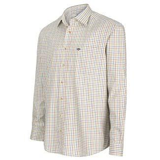 Hoggs of Fife Inverness Cotton Tattersall Shirt - Chelford Farm Supplies