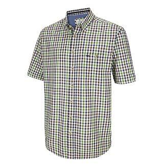 Hoggs of Fife Mens Aberdour Short Sleeve Checked Shirt - Chelford Farm Supplies