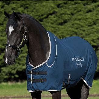 Horseware Rambo Supreme Dry Rug Navy/Silver