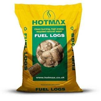 Bedmax Hotmax Heat Logs 20kg
