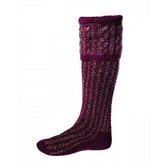 House of Cheviot Mens Reiver Merlot Socks | Chelford Farm Supplies