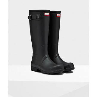 Hunter Mens Original Tall Wellington Boots Black
