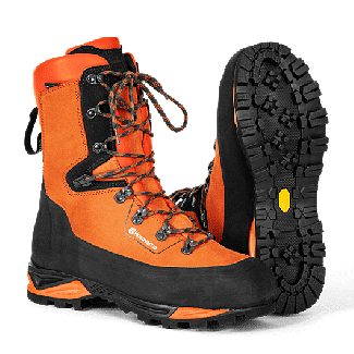Husqvarna Class 2 Protective Leather Technical Chainsaw Boots T24
