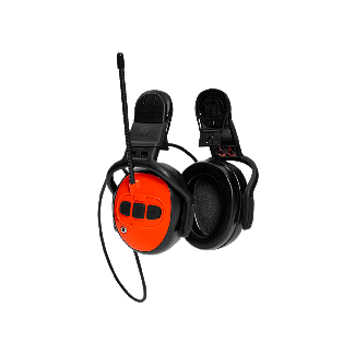 Husqvarna FM Radio/MP3 Hearing Protectors - Chelford Farm Supplies