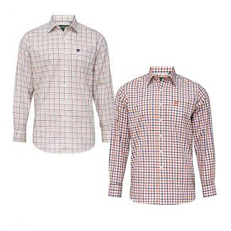 Alan Paine Mens Ilkley Check Shirt