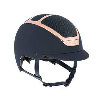KASK Dogma Chrome Light Riding Helmet Navy/Everyrose