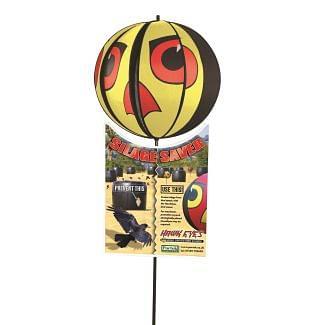 Portek Hawkeyes Bird Scaring Globes