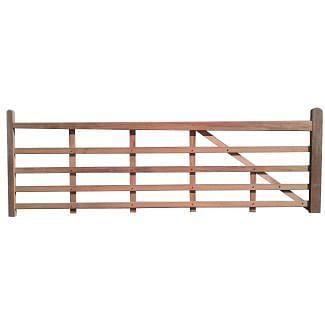 Meranti Timber Entrance Gate