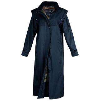 Jack Murphy Ladies Malvern Waterproof Coat Navy -Chelford Farm Supplies