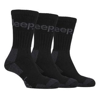 Jeep Mens Terrain Boot Socks 3 Pack | Chelford Farm Supplies