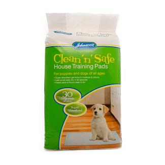 Johnson's Puppy Training Pads 30 Pack | Chelford Farm Supplies