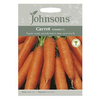Johnsons Carrot Flyaway F1 Seeds