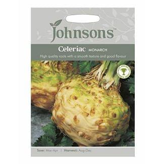 Johnsons Celeriac Monarch Seeds