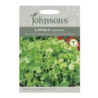 Johnsons Lettuce Salad Bowl Seeds