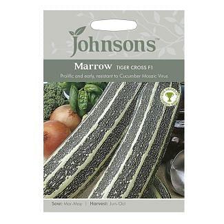 Johnsons Marrow Tiger Cross F1 Seeds