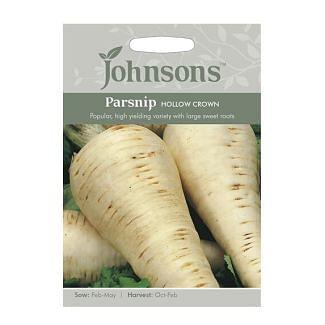 Johnsons Parsnip Hollow Crown Seeds