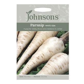 Johnsons Parsnip White Gem Seeds