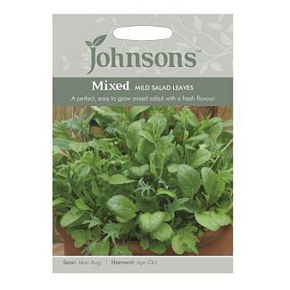 Johnsons Mixed Mild Salad Leaves Seeds