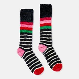 Joules Ladies Chenille Fluffy Socks