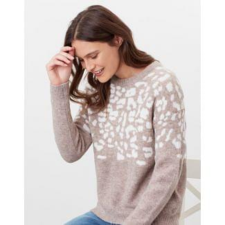 Joules Ladies Niamh Knitted Relaxed Fit Jumper