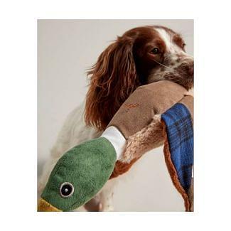 Joules Plush Printed Duck Dog Toy - Chelford Farm Supplies
