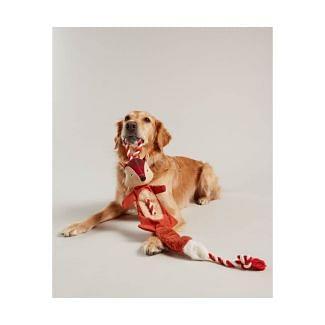 Joules Rope Heritage Tweed Fox Dog Toy - Chelford Farm Supplies