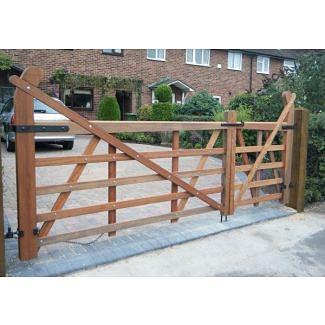 Meranti Timber Ranch Gate