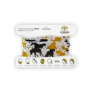 Platinum Equestrian Face Cover/Snood - Chelford Farm Supplies