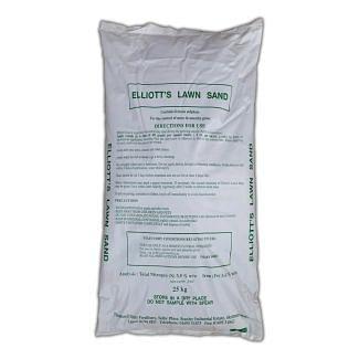 Thomas Elliott Fertilisers Lawn Sand With Moss Control 25kg | Chelford Farm Supplies