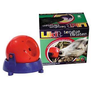 Likit Tongue Twister Horse Treat - Chelford Farm Supplies