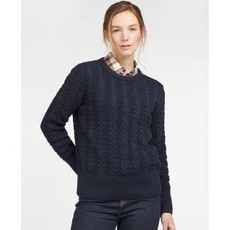 Barbour Ladies Kingham Knit Jumper | Chelford Farm Supplies