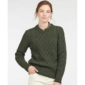 Barbour Ladies Lavenham Knit Jumper | Chelford Farm Supplies