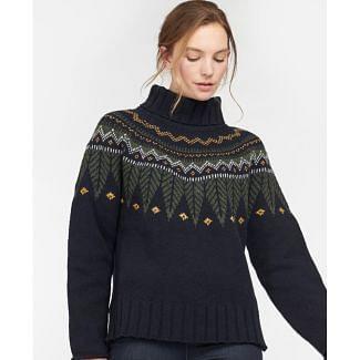 Barbour Ladies Hebden Knit Jumper | Chelford Farm Supplies