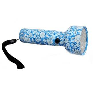 Clulite LL-11 Lady Lite Torch Blue Floral