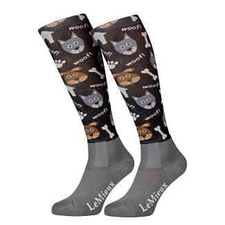 LeMieux Adults Footsie Riding Socks