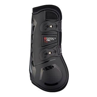 LeMieux Impact Responsive Tendon Boots Black