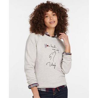 Barbour Ladies Westbury Overlayer Sweatshirt | Chelford Farm Supplies