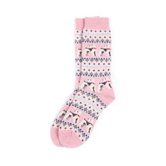 Barbour Ladies Terrier Fairisle Socks