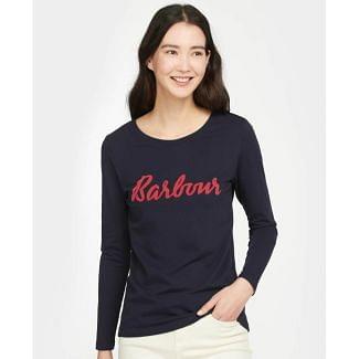 Barbour Ladies Rebecca Long Sleeved T-Shirt