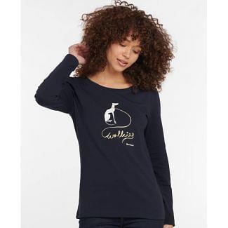 Barbour Ladies Homeswood Long Sleeved Tee | Chelford Farm Supplies