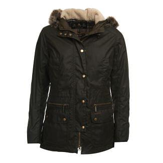 Barbour Ladies Kelsall Wax Parka Jacket