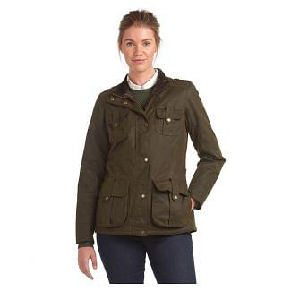Barbour Ladies Winter Defence Wax Jacket