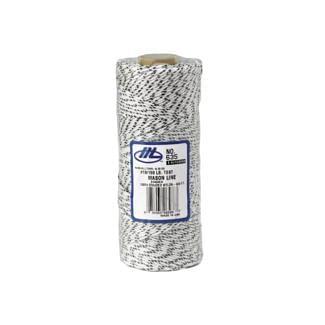Marshalltown Bonded Nylon Masons Line 152m/500ft White   Chelford Farm Supplies