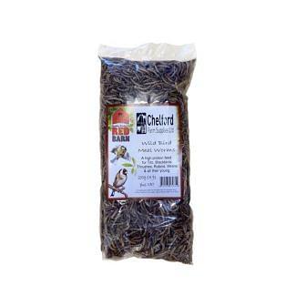 Red Barn Dried Meal Worms Bird Food | Chelford Farm Supplies